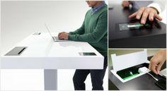 Stir Kinetic Desk : Un bureau à hauteur ajustable