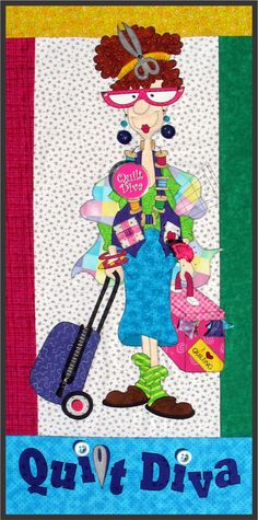 Amy Bradley Designs Quilt Diva pattern