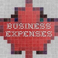 What you can expense being self employed