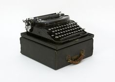 Portable Typewriter  Remington Noiseless Art Deco by TomLaurus, $146.25