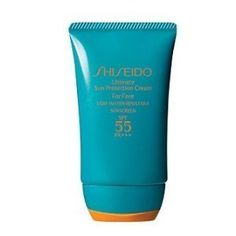 Shiseido Ultimate Sun Protection Cream SPF 55 PA+++, 2oz by Shiseido. $35.93. BRAND NEW, 100% AUTHENTIC GUARANTEE.. A highly nourishing cream-formula sunscreen for the face that defends against powerful UVA/UVB rays that cause sunburn, cell damage, dryness, roughness, and premature signs of aging such as fine lines. Formulated with the retexturizing ingredient Xylitol to counteract roughness and keep skin looking soft and healthy and with anti-oxidant, Thiotaurine. Ap...