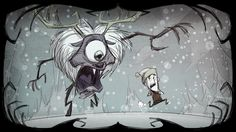 Don't Starve by Klei Entertainment.