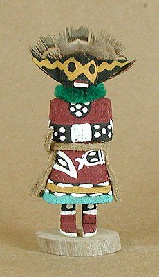 Authentic Native American Hopi kachina doll by Loretta Multine Navajo/Hopi