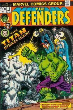 Defenders 12 marvel comics group