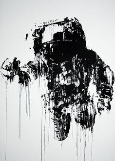 Astronaut Cosmonaut – Victor Ash (2013) #print