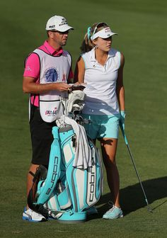 Lexi Thompson golf bag