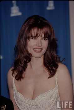 Curious geena davis cum facial think