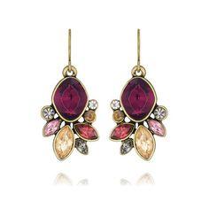 Bouquet Rouge Drop Earrings $38.00. Shop Now ~ https://www.chloeandisabel.com/boutique/melissamcentiremayes#25726
