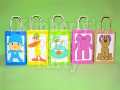 Pocoyo and friends party bags