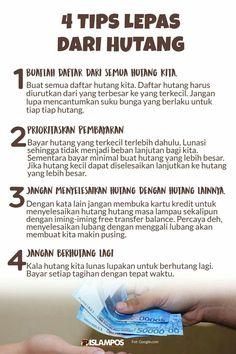 Tips Lepas Dari Hutang  #sabar #syukur #qonaah #merasacukup #selfreminder #selfnote