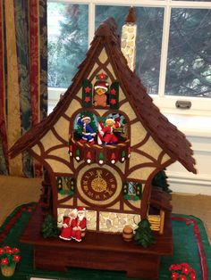 Christmas wouldn't be Christmas without gingerbread houses. Last year we showcased gingerbread houses from an exhibit at Ped...