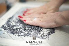 #Ramponi borchie griff metal studs laboratorio