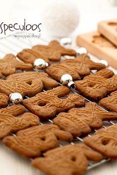 Speculoos - ciasteczka Świętego Mikołaja