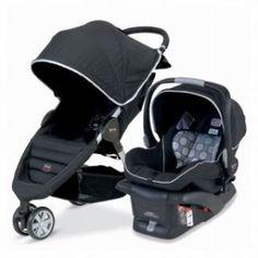 Britax B-Agile and B-Safe Travel System #britax #stroller #stroller system