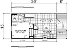 Savoy Floor Plan - for just me, this is perfect