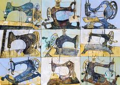 Jenny Grevatte -  Sewing Machine Multiple