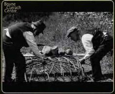 Boyne Currach: 1935 documentary on construction of small river version.