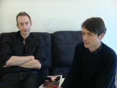Brett Anderson and Mat Osman of Suede from 2013