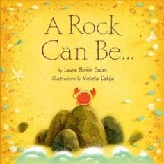 A Rock Can Be . by Laura Purdie Salas illustrations by Violeta Dabija (Millbrook Press, Rocks! I love rocks. A Rock Can Be. Little Free Libraries, Thing 1, Shared Reading, Mentor Texts, Fiction And Nonfiction, Read Aloud, Childrens Books, Literacy, This Book