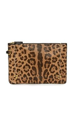 ¡Consigue este tipo de neceser de JEROME DREYFUSS ahora! Haz clic para ver los detalles. Envíos gratis a toda España. Jerome Dreyfuss Popoche Medium Pouch: A slim Jerome Dreyfuss pouch crafted in animal-print haircalf. The top zip opens to a lined interior. Dust bag included. Fur: Dyed haircalf (cow), from New Zealand. Imported, Tunisia. Measurements Height: 6.25in / 16cm Length: 8.75in / 22cm THIS ITEM CANNOT BE SHIPPED OUTSIDE THE USA. (neceser, neceseres, dressing case, vanity case…