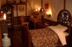 RGB-I love the warmth. Hobbit House Interior