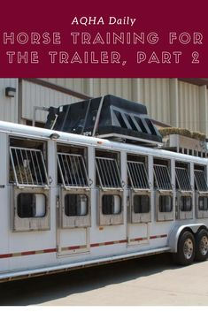If you are having a hard time loading your horse in the trailer, take a look at some of these tips. All About Horses, Dream Barn, Horse Training, Horse Care, Horseback Riding, Equestrian, Cowgirls, Farming, Life Quotes