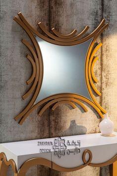 Modern wall mirror design ideas for living room wall decoration 2019 Contemporary Interior Design, Luxury Interior Design, Interior Decorating, Ceiling Design, Wall Design, Living Room Mirrors, Wall Mirrors, Living Rooms, Luxury Mirror