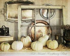 Great Ideas -- 20 Festive Fall Mantels!! -- Tatertots and Jello