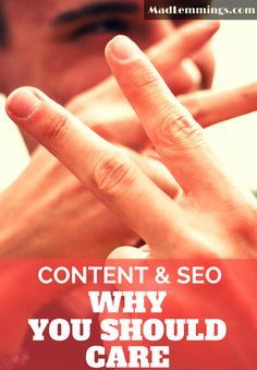 Don't just focus on SEO when you are producing content, you have to take care of the customer too.