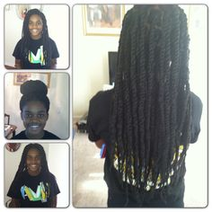 Havana twists/ natural hair style/ DIY/ Instagram and tumblr @msnaturallymary