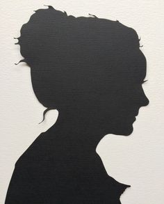Two Custom Hand Cut Silhouettes for Couple
