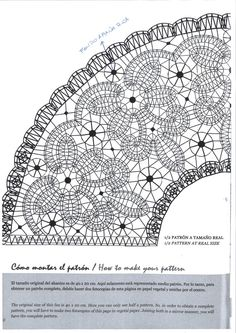 Abanico                                                                                                                                                                                 Más Bobbin Lace Patterns, Crochet Doily Patterns, Thread Crochet, Irish Crochet, Crochet Lace, Russian Crochet, Doilies Crochet, Lace Tape, Bobbin Lacemaking