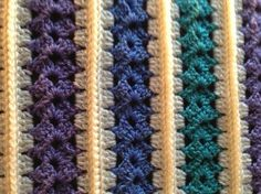 Who wants to be Martha when I can be ME?: My Version of the Mile-A-Minute Baby Afghan: FREE crochet pattern link & info