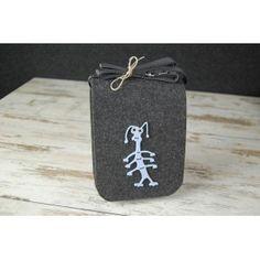 Etoi Design - szara torebka ze zwierzakiem