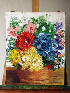 pintura muy impresionista