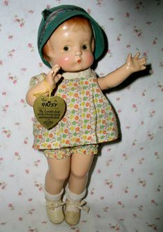 1929 Effanbee PATSY Doll -- Patent Pending * Including rare Mollye's Wardrobe