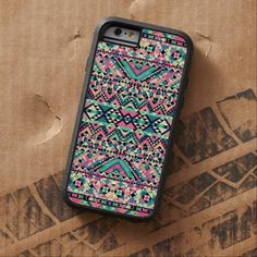 It's a cool iPhone 6 Case! This Pink Turquoise Girly Aztec Andes Tribal Pattern iPhone 6 Case is ready to be personalized or purchased as is. It's a perfect gift for you or your friends.