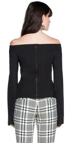Tops | Off Shoulder Bell Sleeve Top