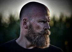 Bald Men With Beards, Types Of Beards, Bald With Beard, Grey Beards, Long Beards, Viking Beard Styles, Best Beard Styles, Hair And Beard Styles, Beard Images