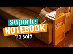 DIY - SUPORTE PARA NOTEBOOK NO SOFÁ | Diycore - YouTube