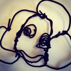 2nd grade Alexander Calder wire portrait