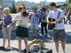 Street Music at the Puyallup Farmer's Market