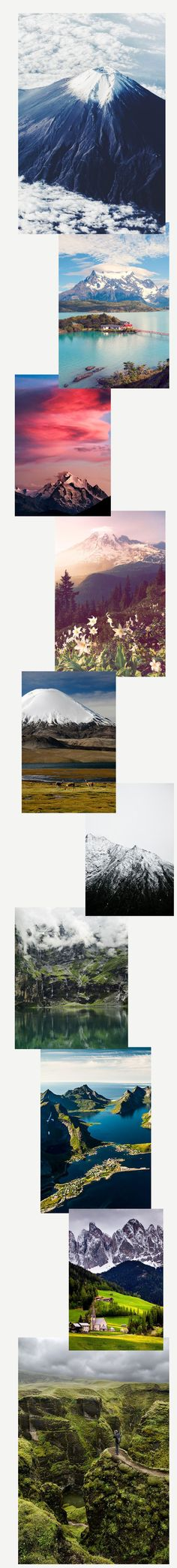 Travel Daydreaming: Climb Every Mountain by The Wanderlove Collective Zine, Climbing, Travel Inspiration, Mountain, Collage, Collages, Mountaineering, Collage Art, Hiking
