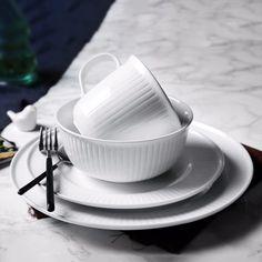 Homestia Dinnerware Set of 4 Simple European Style 1 * Mug 1 * Bowl 1 * & Modern made in France 31 PC dinnerware set. Contact Original ...