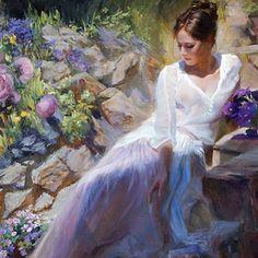 Beginning of violet summer - Obra de Vladimir Volegov