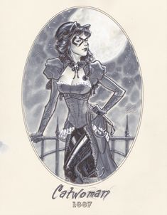 1887 Catwoman by Michael Dooney