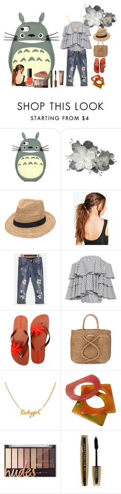 """Late Afternoon... Summer"" by rosastreet on Polyvore featuring Gottex, Boohoo, Caroline Constas, IPANEMA, ViX, Yves Saint Laurent, Urban Decay, Clinique, L'Oréal Paris e Max Factor"
