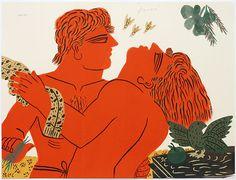 le couple-en rouge