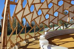 Nexorade Geodesic Dome Community project by Ctrl+Z Architects Garden Deco, Pula, Circle House, Geodesic Dome Homes, Timber Architecture, Dome House, Little Houses, Palette, Backyard