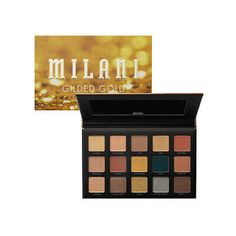 Milani Gilded 15 Shade Eye Shadow Palette Variety - Gold, Nude or Twilight   eBay Pale Skin Makeup, Face Makeup, It Cosmetics Brushes, Makeup Cosmetics, Eye Palette, Eyeshadow Palette, Cosmetic Brush Set, Going For Gold, Makeup Deals